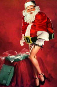 Here comes Sissy Claus!